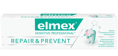 Pasta do zębów elmex® SENSITIVE PROFESSIONAL™ REPAIR & PREVENT